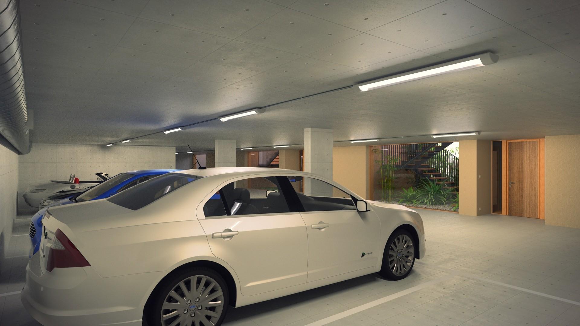 Duane kemp 23 a1309 villas portier 3d staircase garage garage se corner 02 post