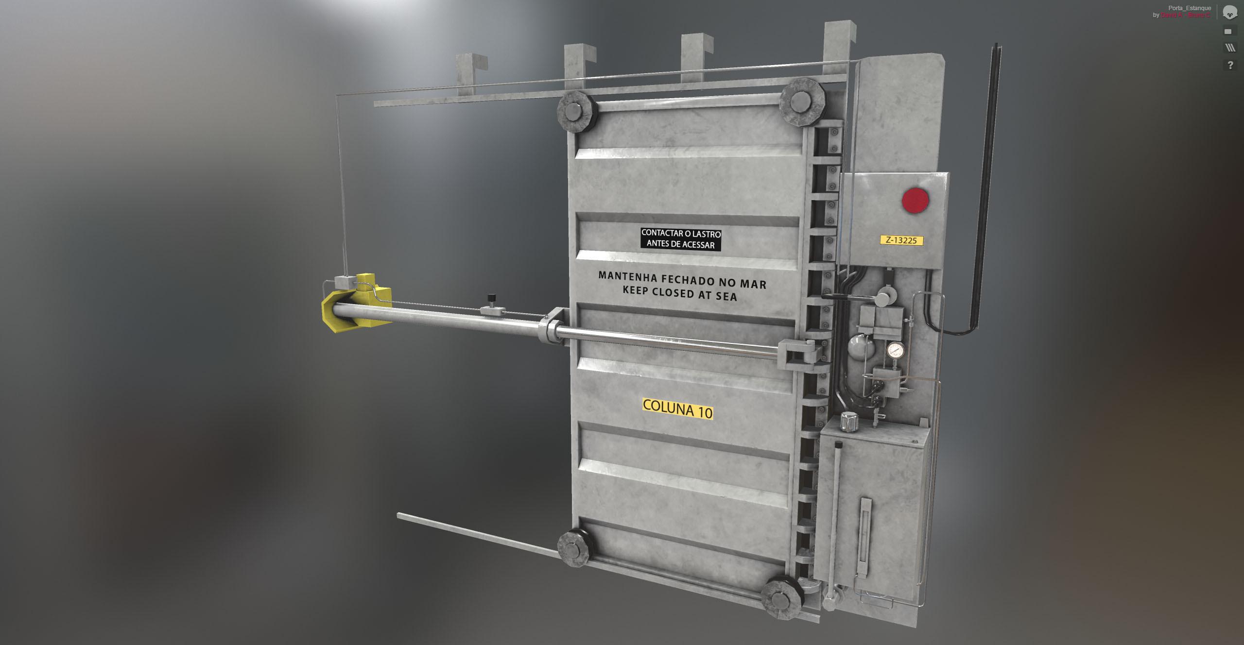 Visual Target on Marmoset Toolbag