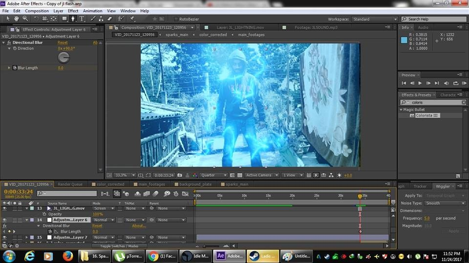 ArtStation - Justice League Flash   After Effects Work, Sumit Ghosh