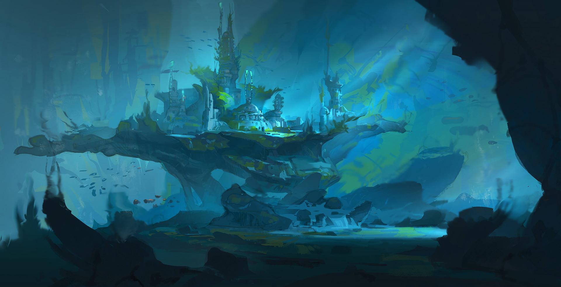 Hydaria - Reino Subaquático. Duncan-li-underwater