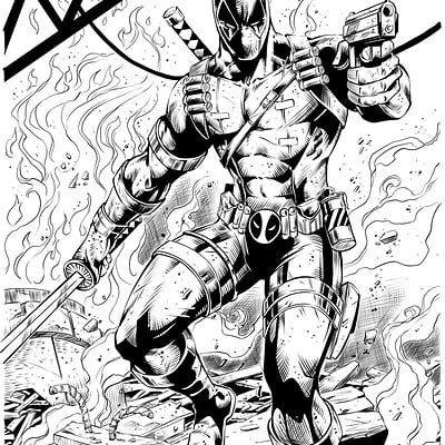 Matt james deadpool by snakebitartstudio dbwzcrs