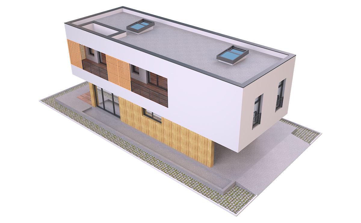 ArtStation - Modern House 2 Free 3d Model, Md Hoque