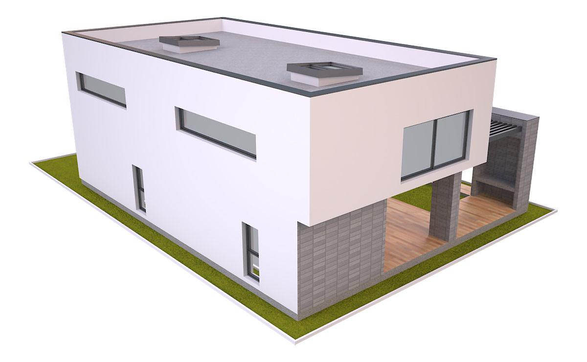 Artstation Modern House 3 Free 3d Model Md Hoque