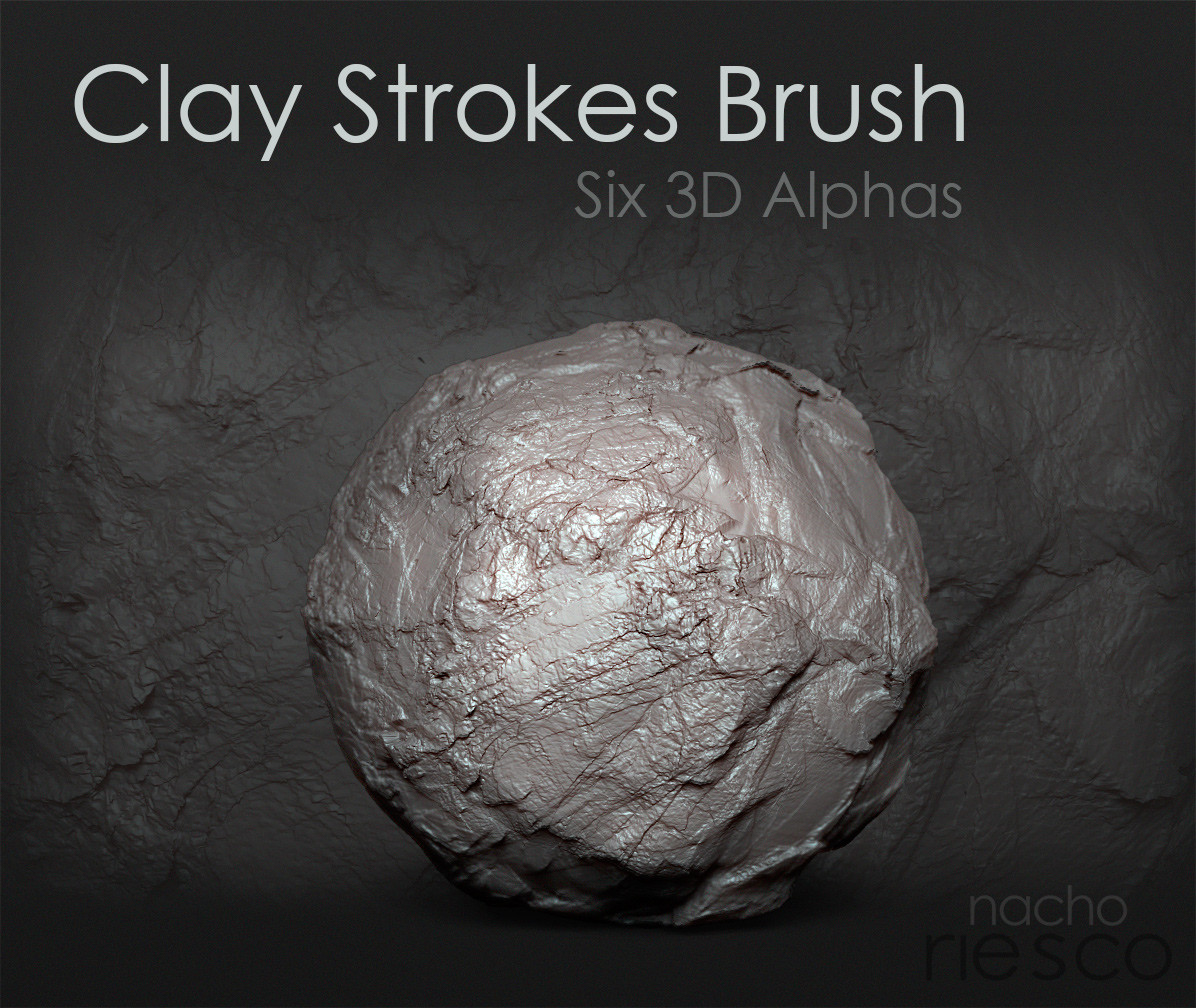 Nacho riesco gostanza alpha clay brush