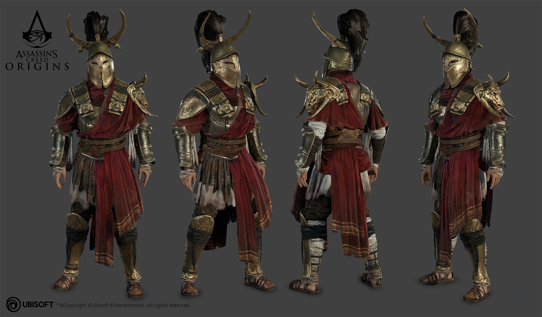 Artstation Assassin S Creed Origins Characters Yuriy Georgiev