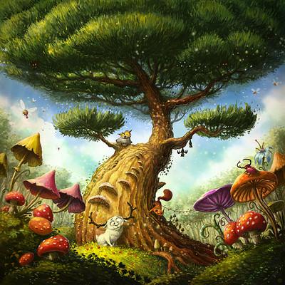 Tomek larek magic tree tomek larek