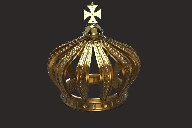 Pierre benjamin crown test render keyhshot