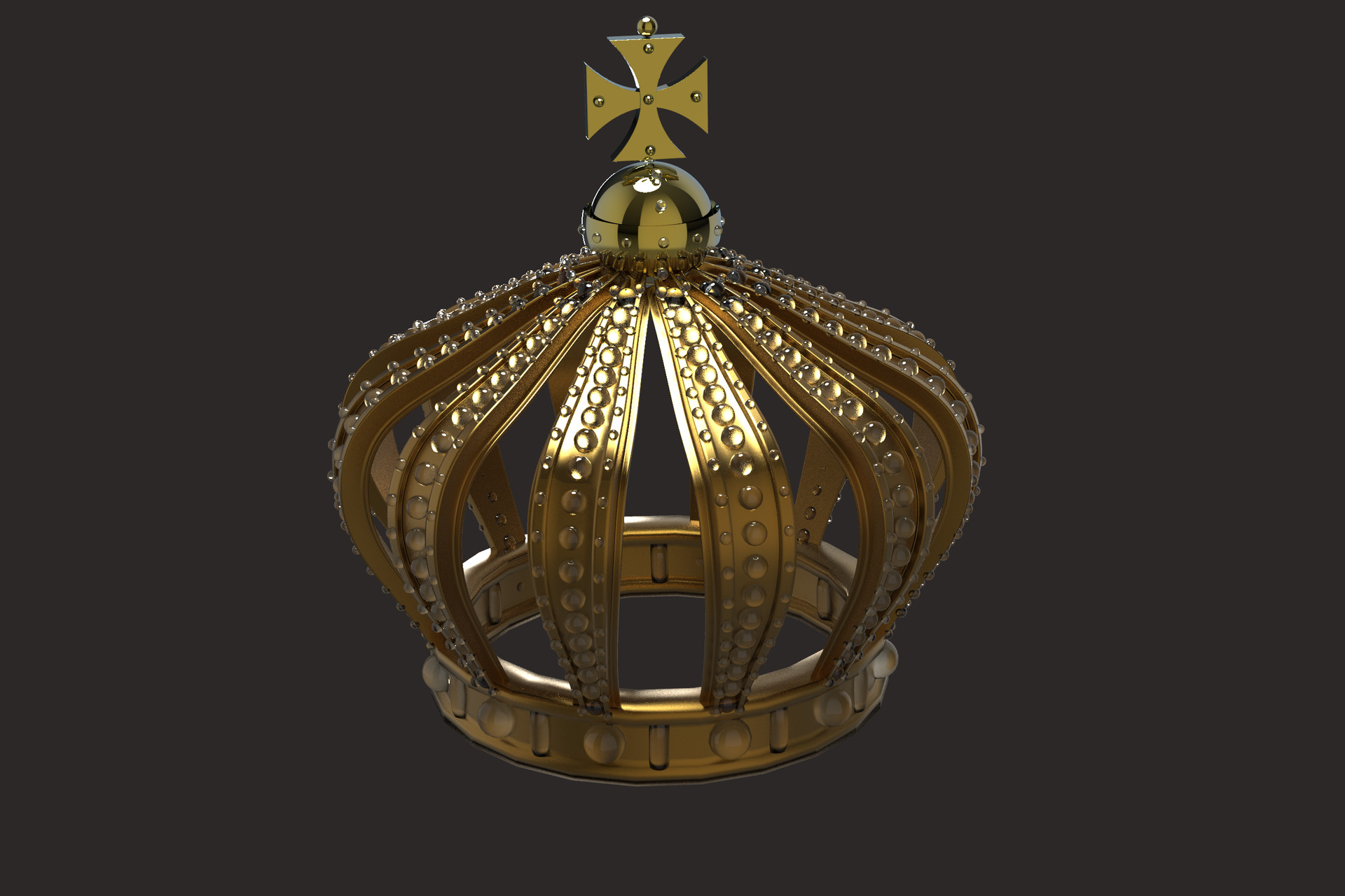 Pierre benjamin crown test render keyhshot 2442725