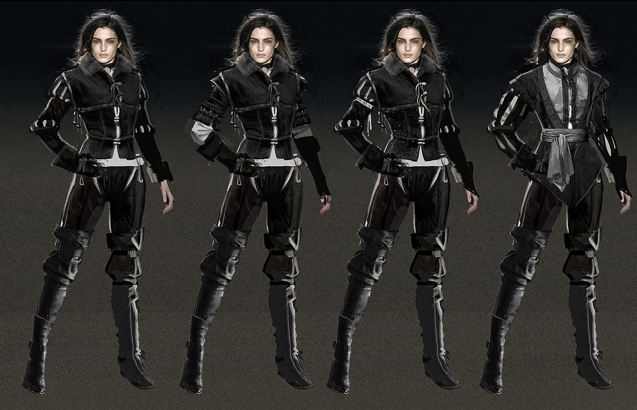 Yennefer concept art