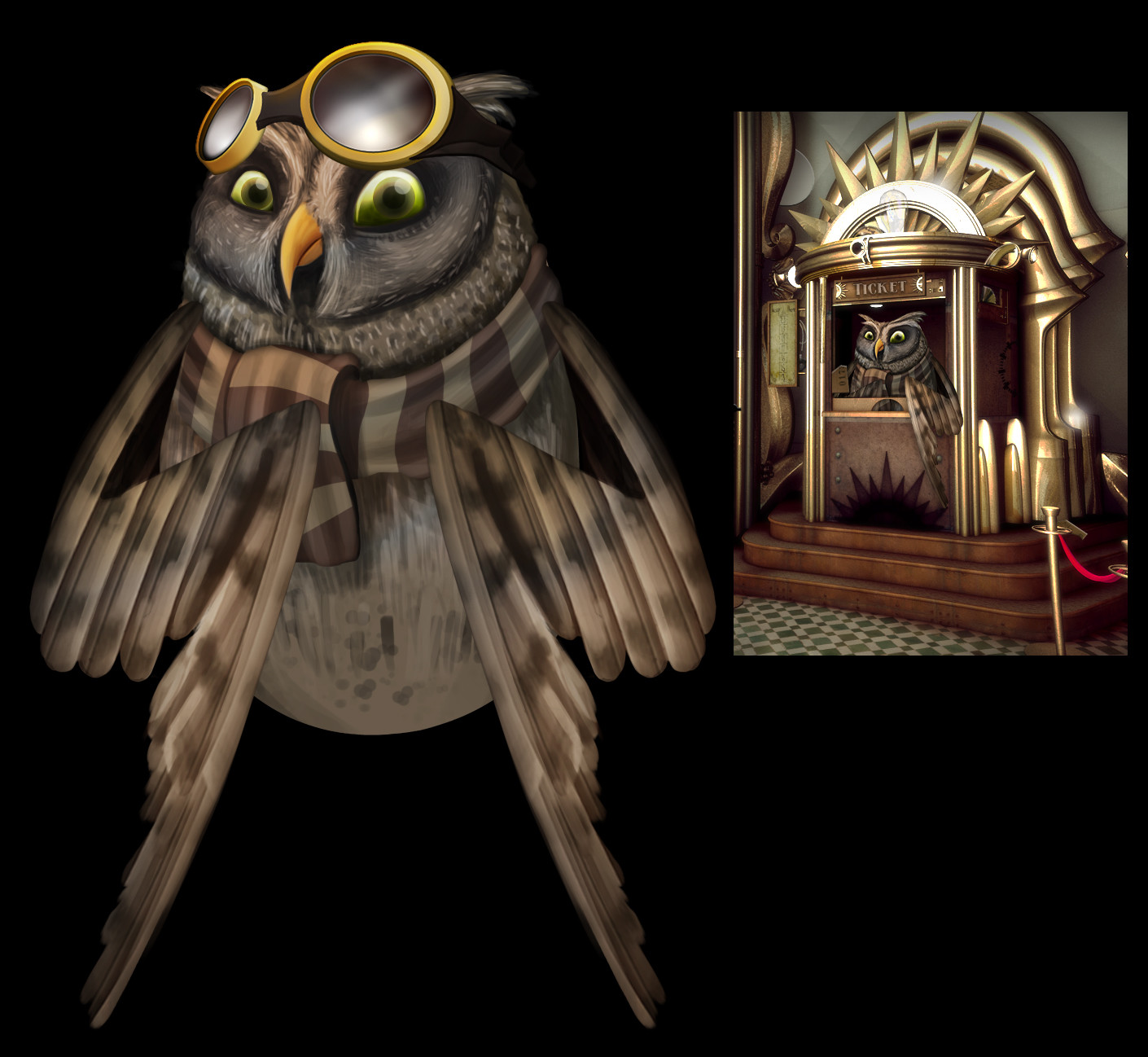 Remi couture owl