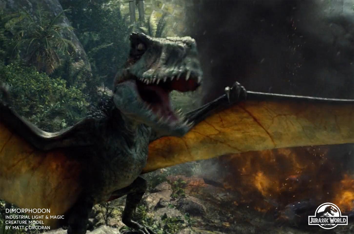 Matt corcoran jurassicworld dimorphodon 01