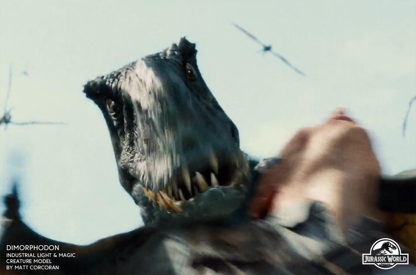 Matt corcoran jurassicworld dimorphodon 05