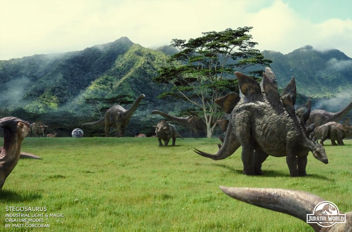 Matt corcoran jurassicworld stegosaurs 02