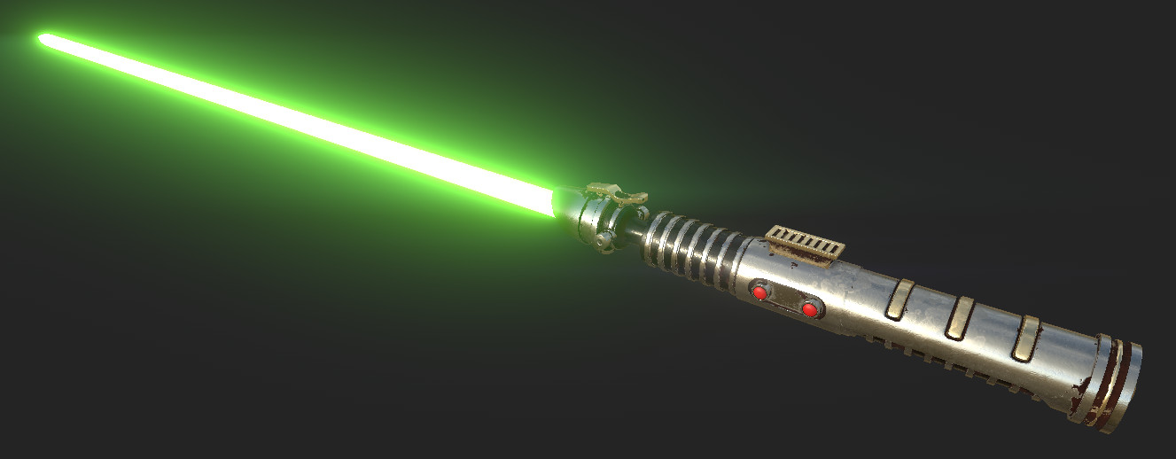 Joe bush 2017 12 18 17 48 52 substance painter 2 6 1 7 days remaining lightsaber
