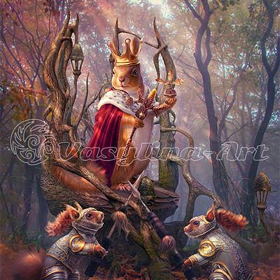 Vasilyna holod squirrel king