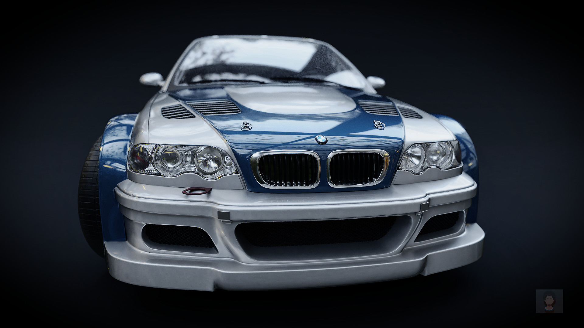 Artstation Bmw E46 M3 Gtr Need For Speed Most Wanted 2005 Josafa Batista