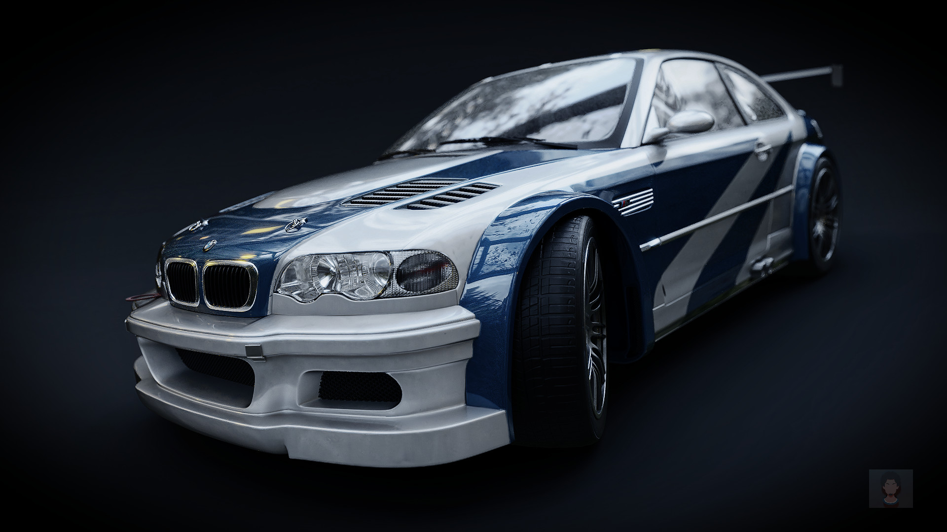 Josafá Batista Bmw E46 M3 Gtr Need For Speed Most Wanted