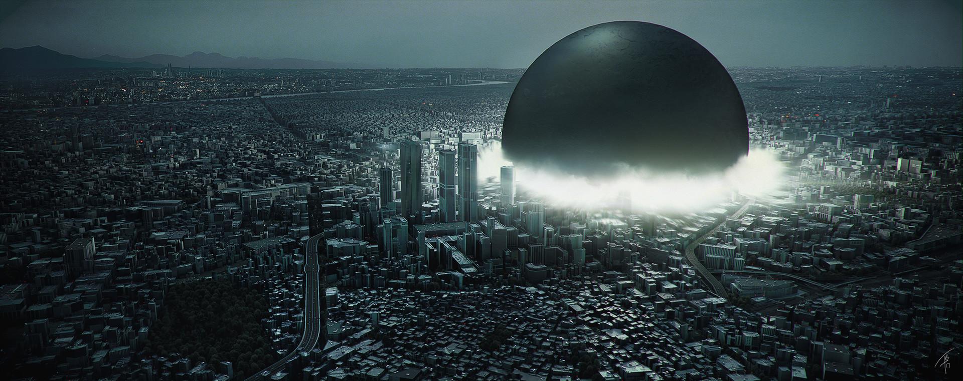 ArtStation - AKIRA City Concept, Falk Boje