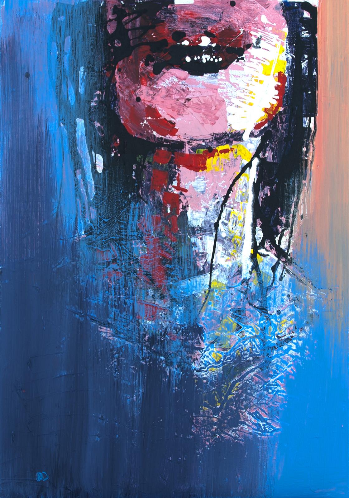 Dream, The Gallows Pt. 2 Acrylic on canvas (60 x 80cm)
