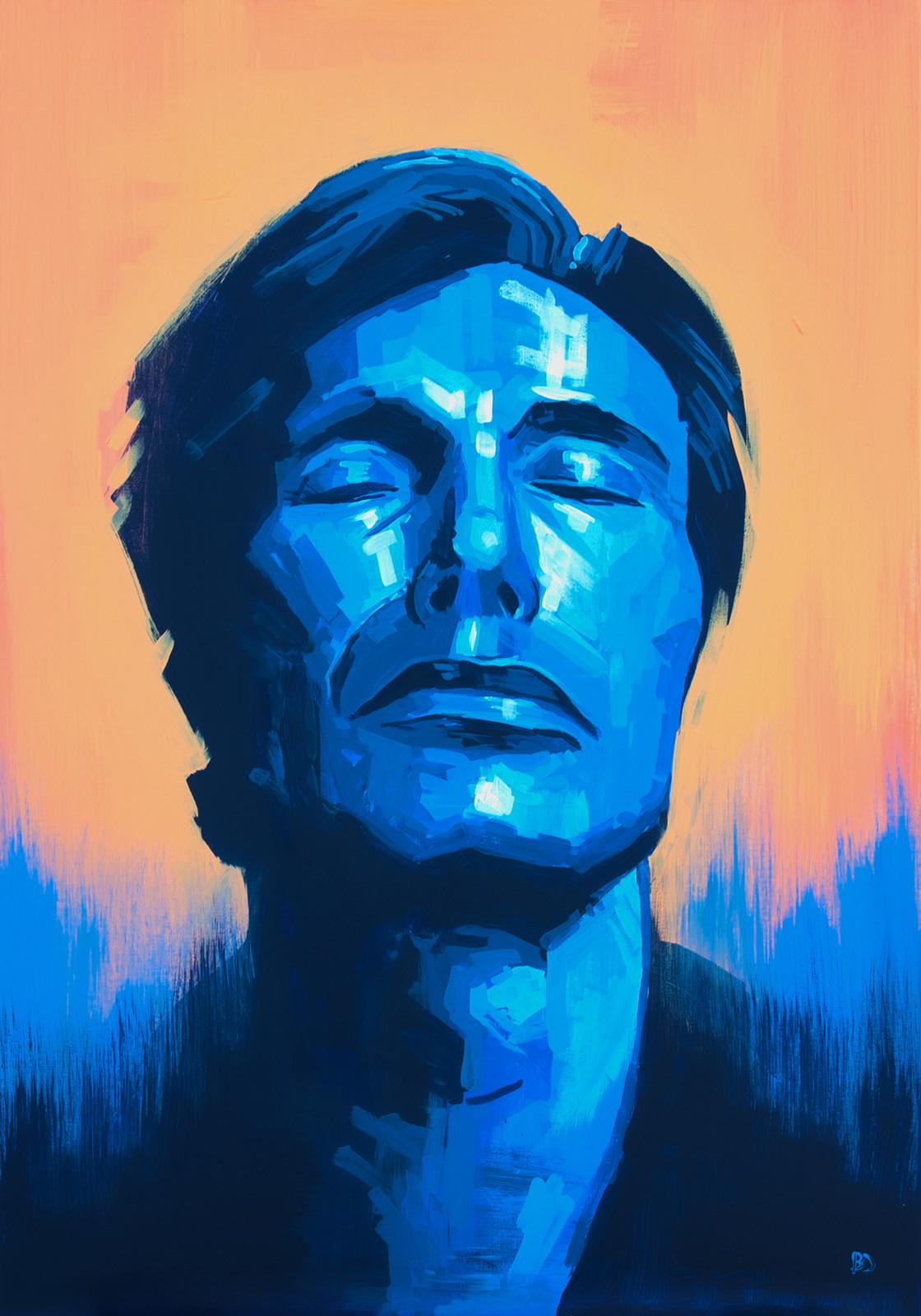 Daydream, Amnesiac Acrylic on canvas (70 x 100cm)