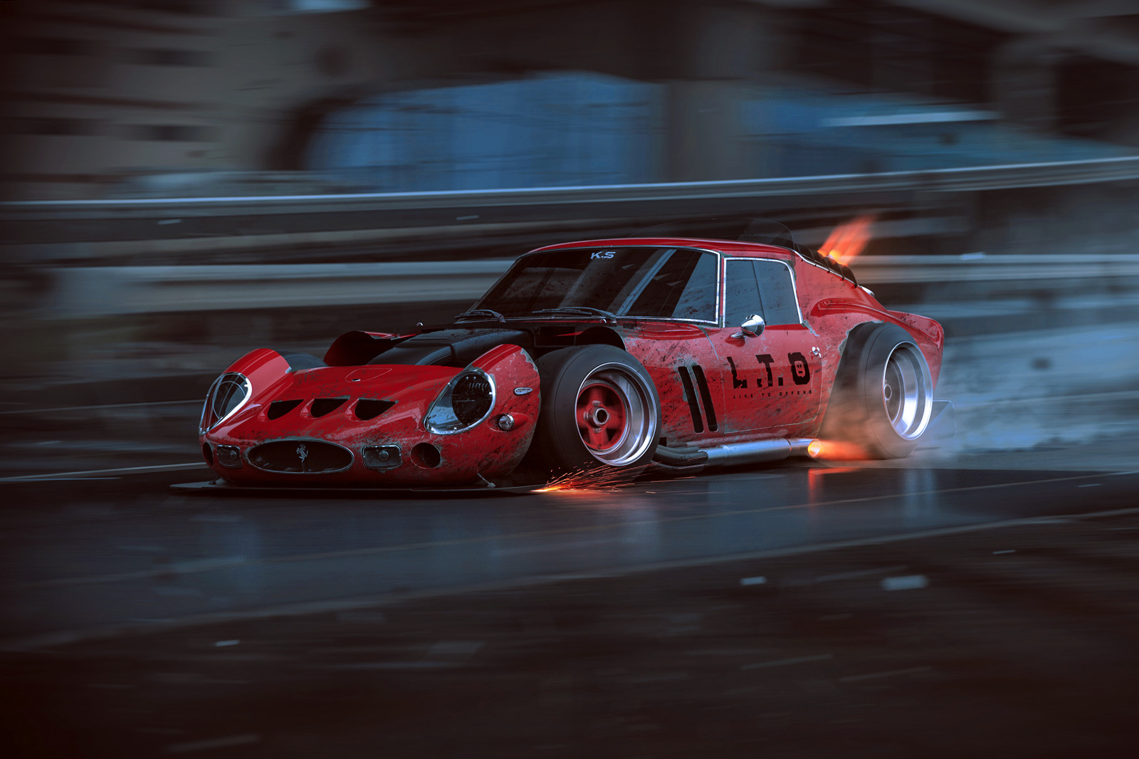 250 GTO - L.T.O