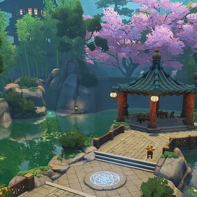 Orcs Must Die! Unchained: Wu Xing Battles Level Art