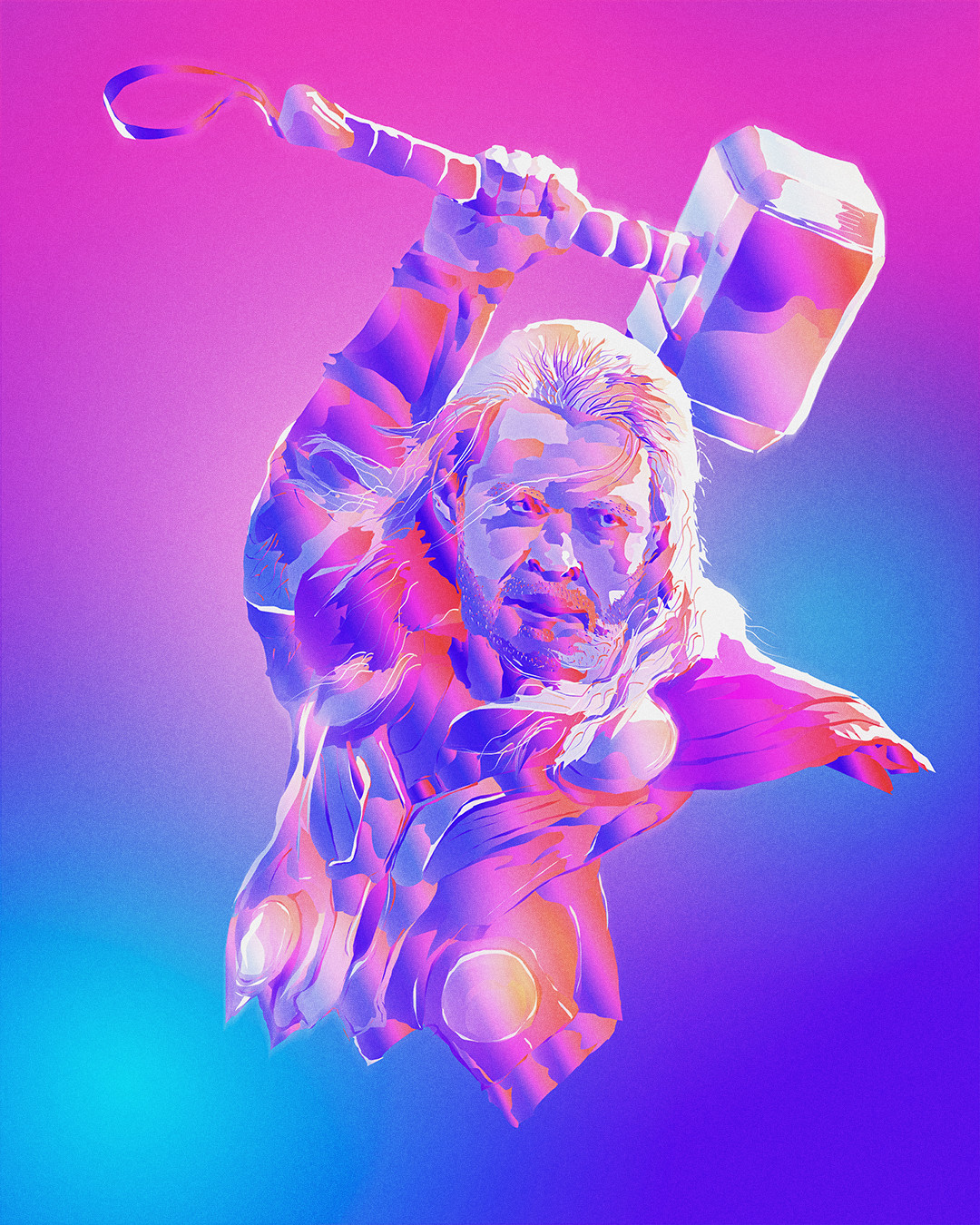Nick tam full masaolab theavengers colorillustration thor v2