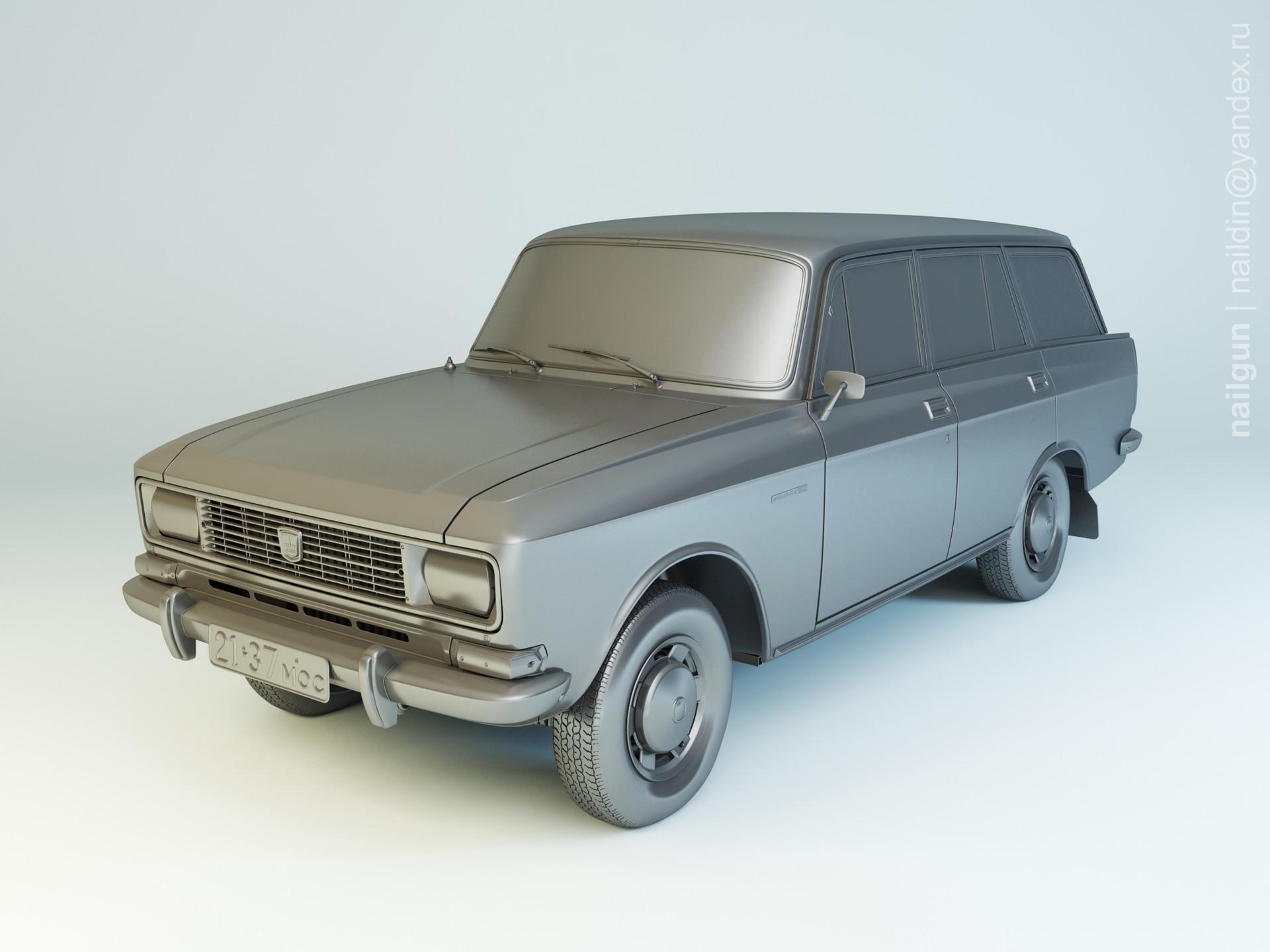 Nail khusnutdinov al 133 005 azlk 2137 moskvich modelling 0