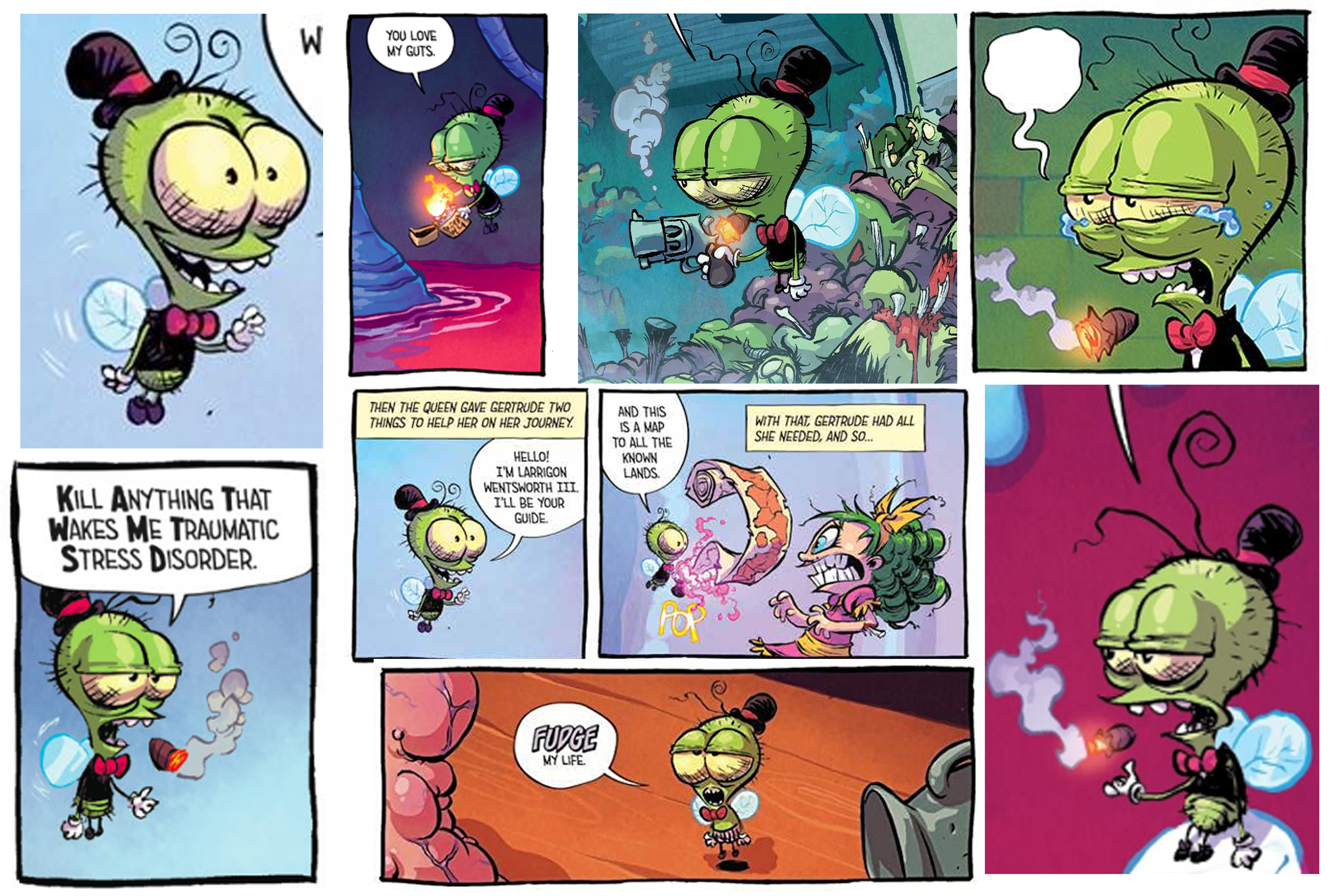 Reference - Skottie Young