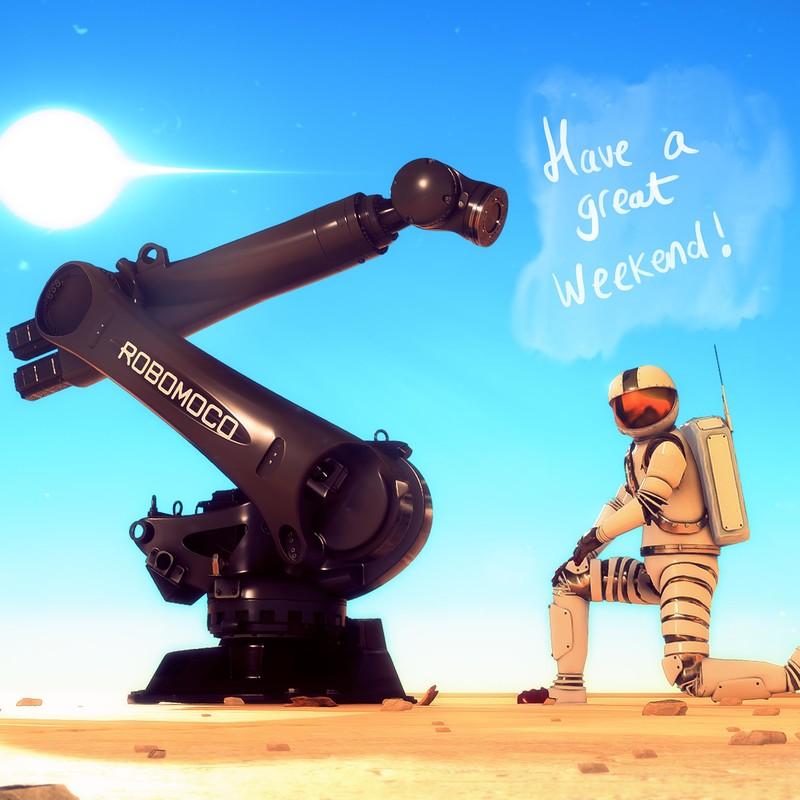 RoboMoco - Have a Great Weekend