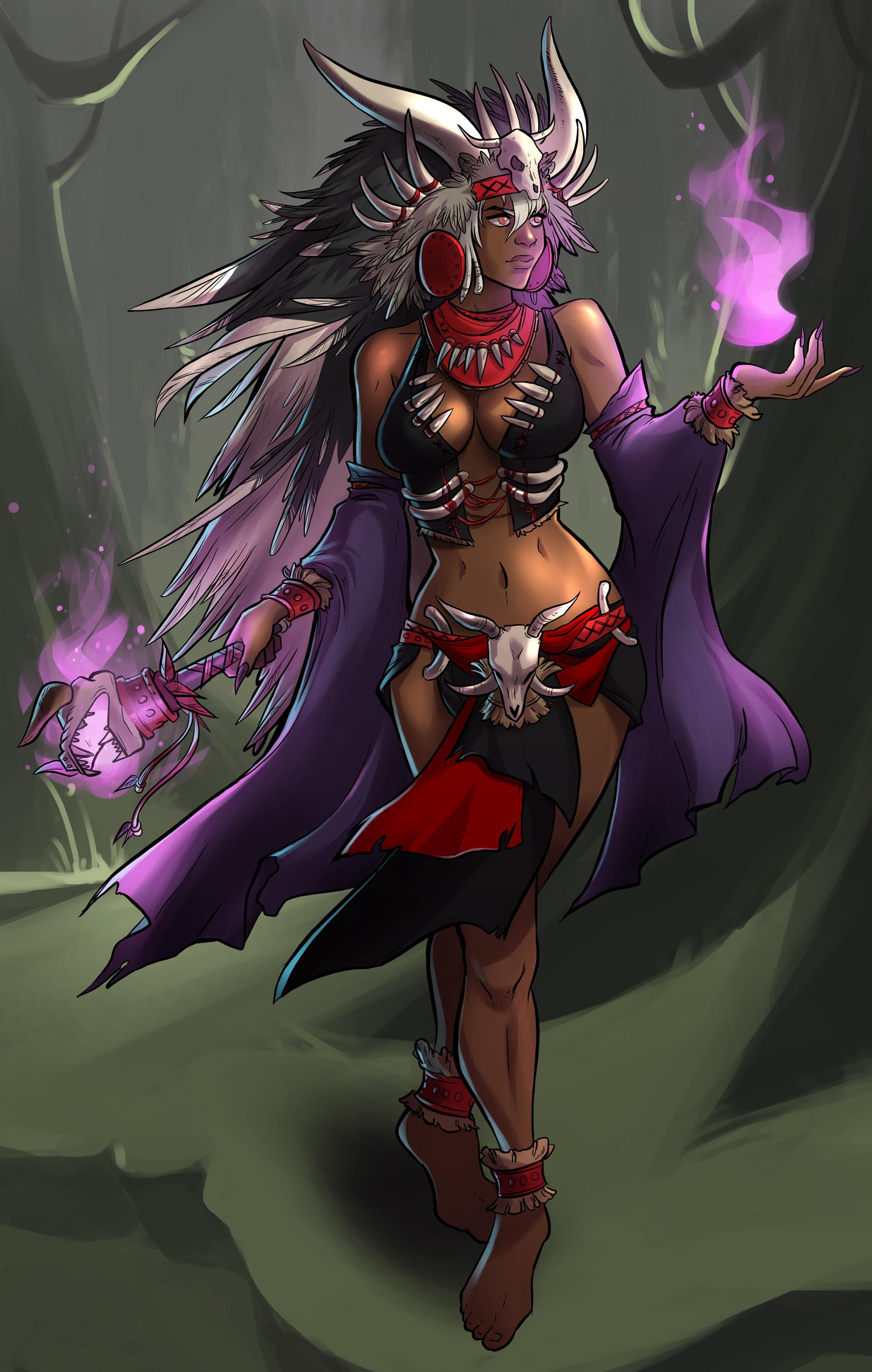 Stef tastan female warlock3