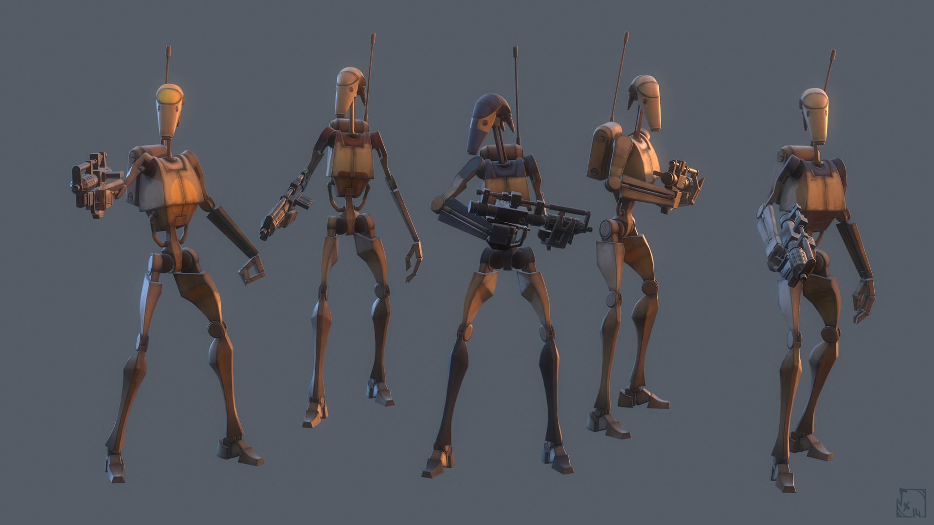 Thomas chaumel cha battle droids b1