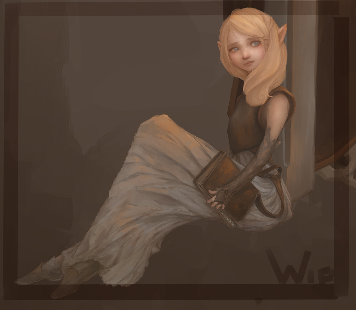 Kate marie rodberg arne fan art treaty of five io seira avelenon wip