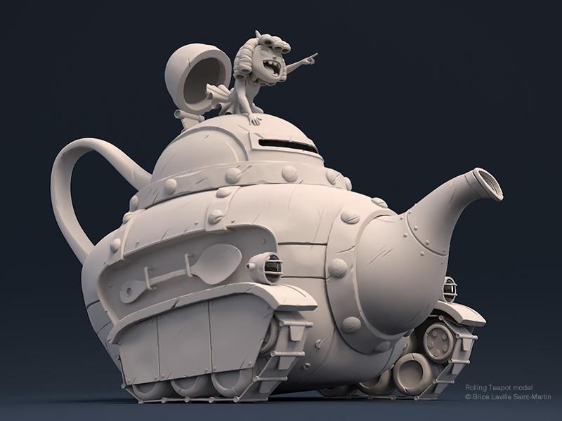 Pietro bernardi rolling teapot 01