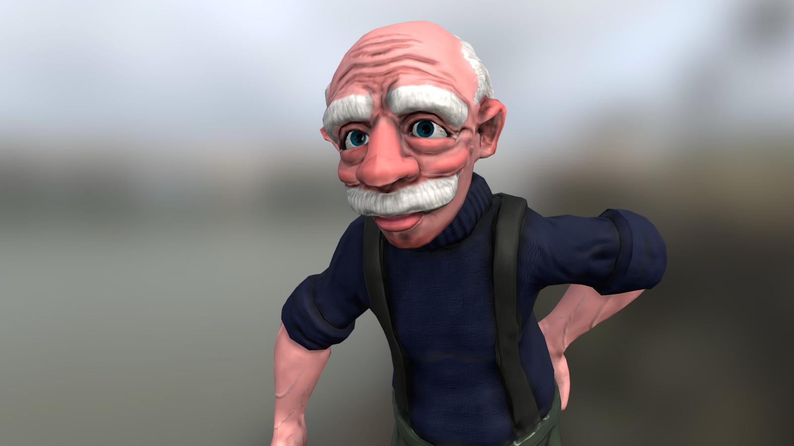 Fisherman Grandpa