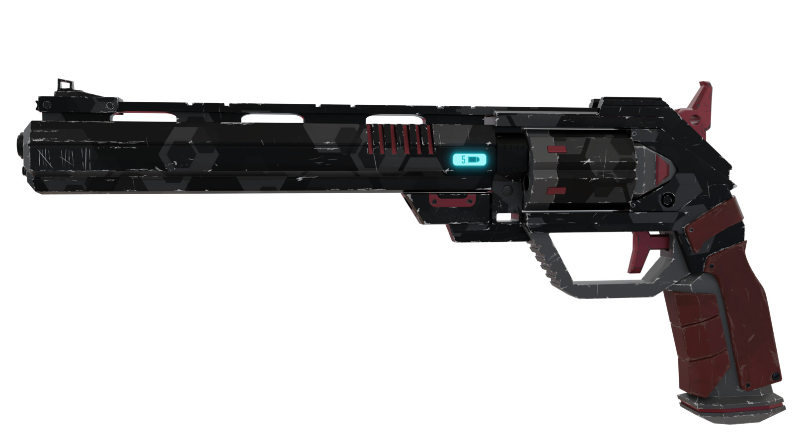 My take on the XCOM Conventional Pistol.
