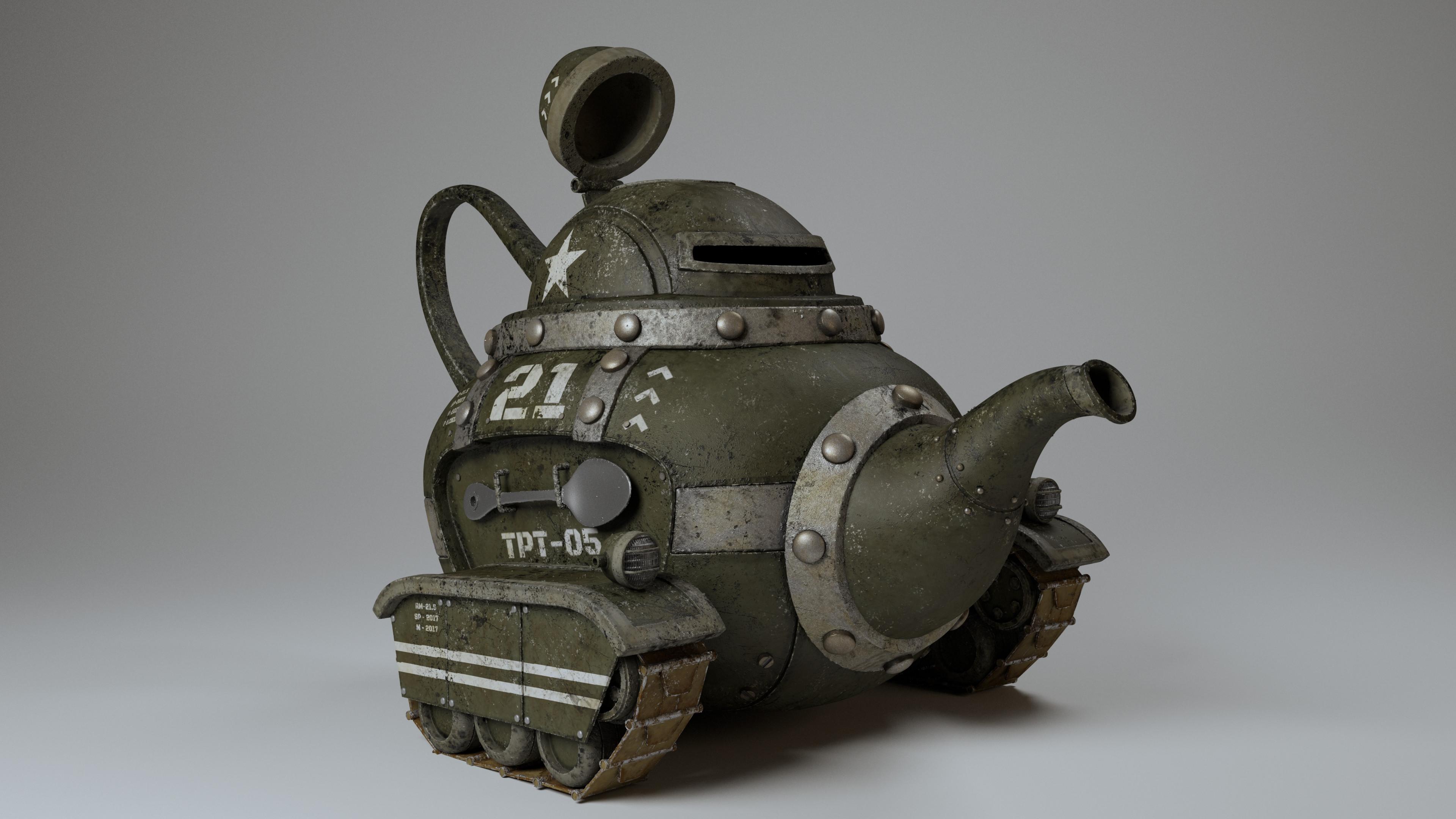 LookDev - Tank.