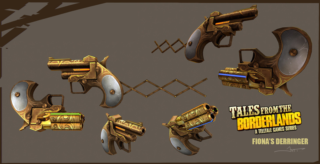 Fiona's Derringer. The Iconic gun of the series!