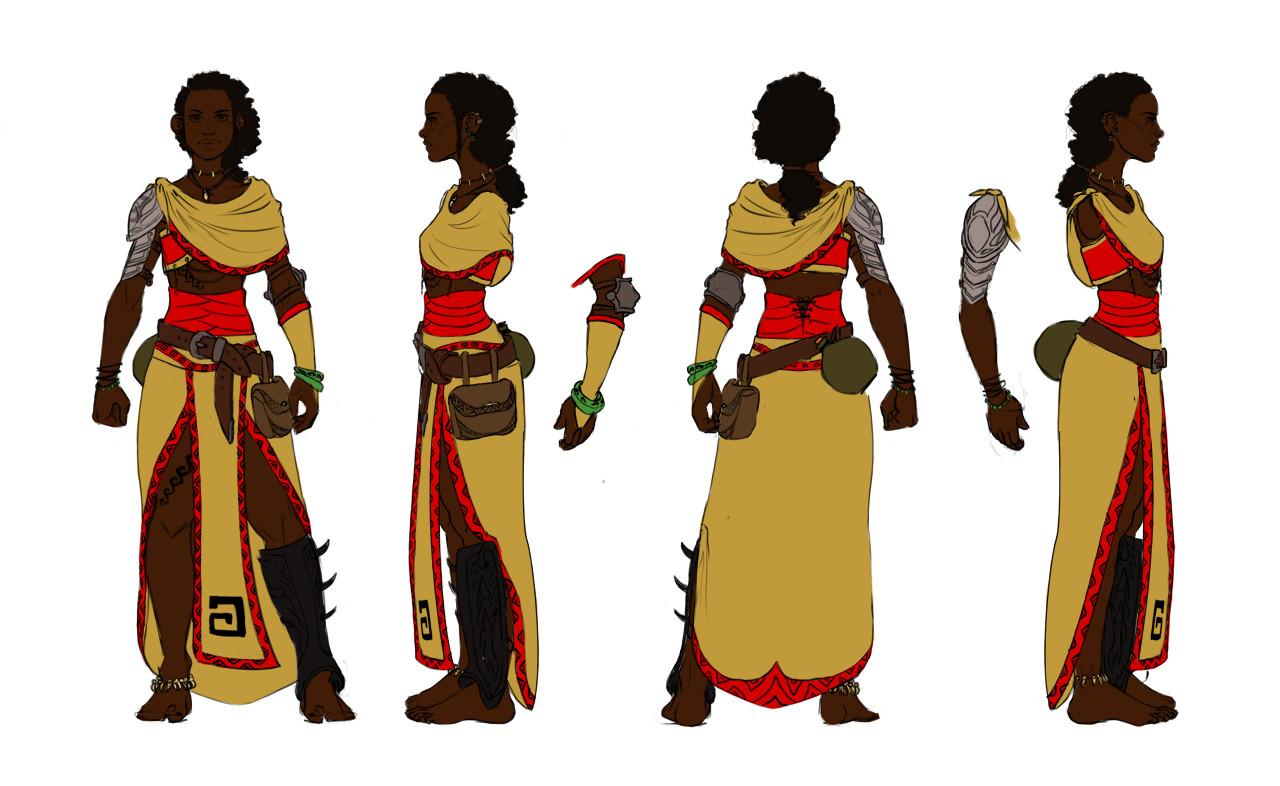 Elizabeth ware bamako color turnaround