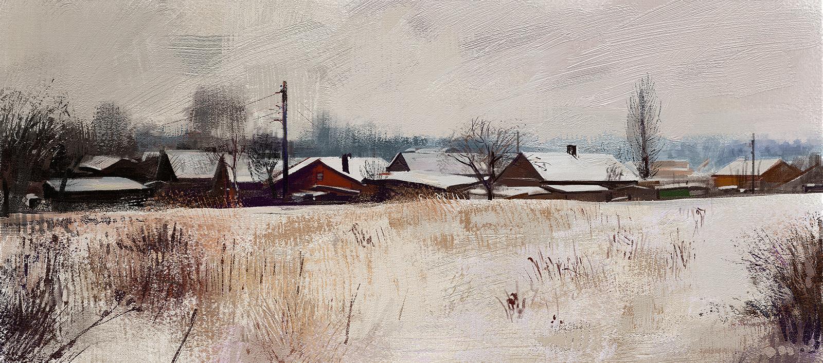 Tymoteusz chliszcz landscape winter3 by chliszcz