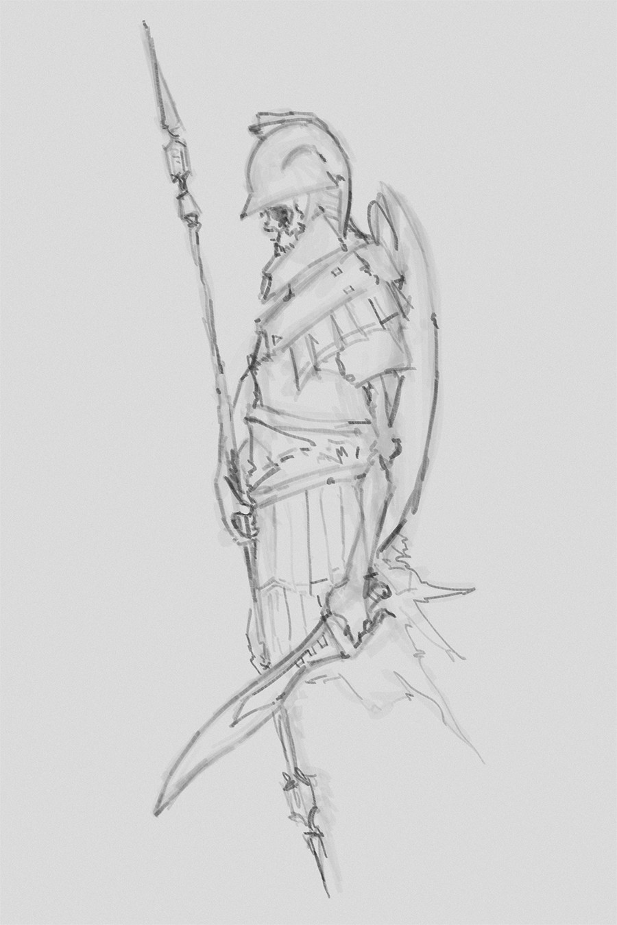 Procreate marker sketch