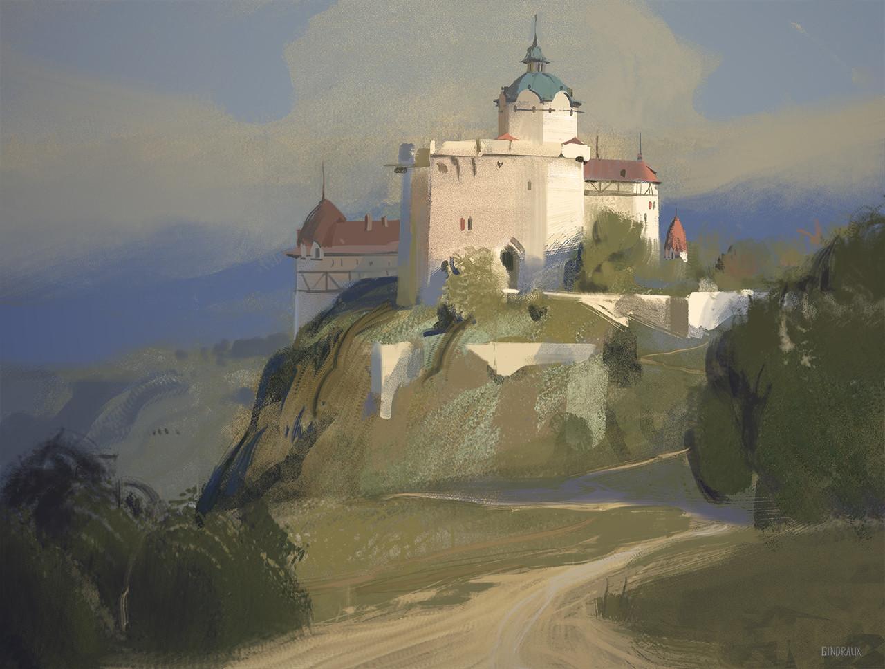 Nick gindraux castle study2 artstation