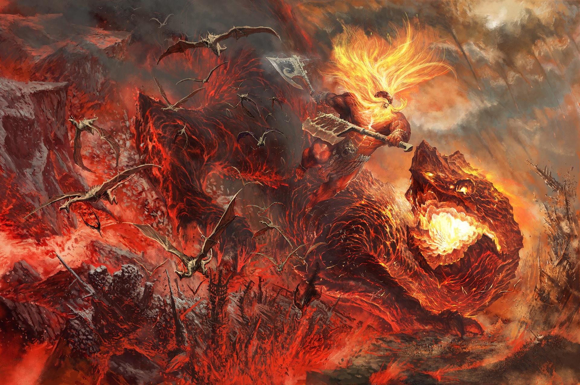 Tze Kun Chin 陈志堃 - Grimnir vs Vulcatrix