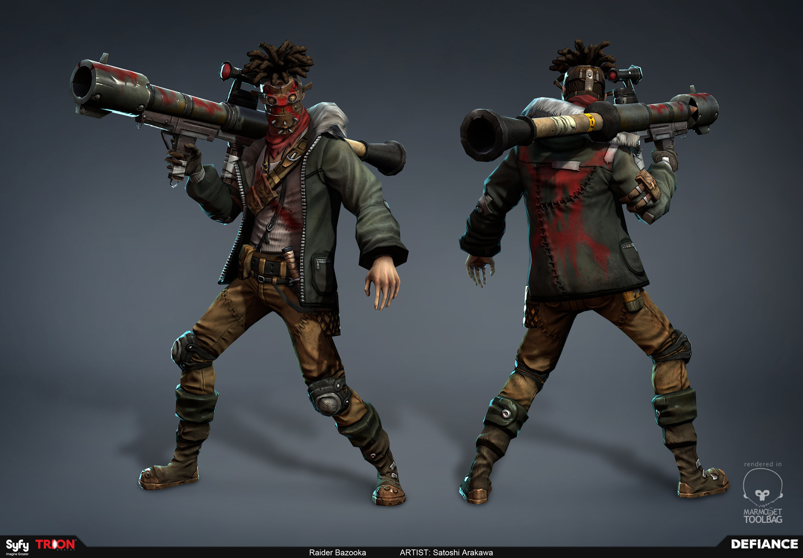 Defiance - Blitzer Raider Bazooka