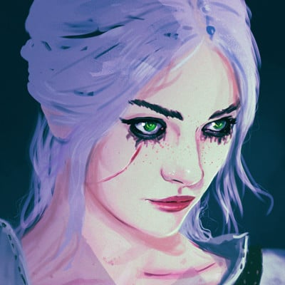 Anato finnstark ciri the witcher 3 by anatofinnstark dbxl9sf