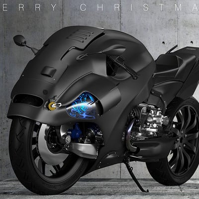 Ying te lien black bike 02