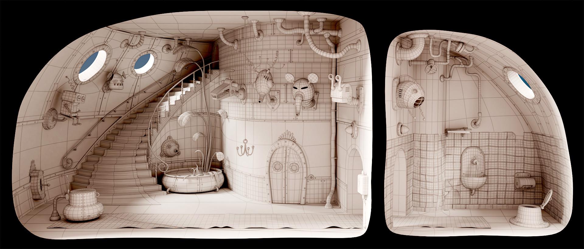 ArtStation - Machinarium, Roberto Noya