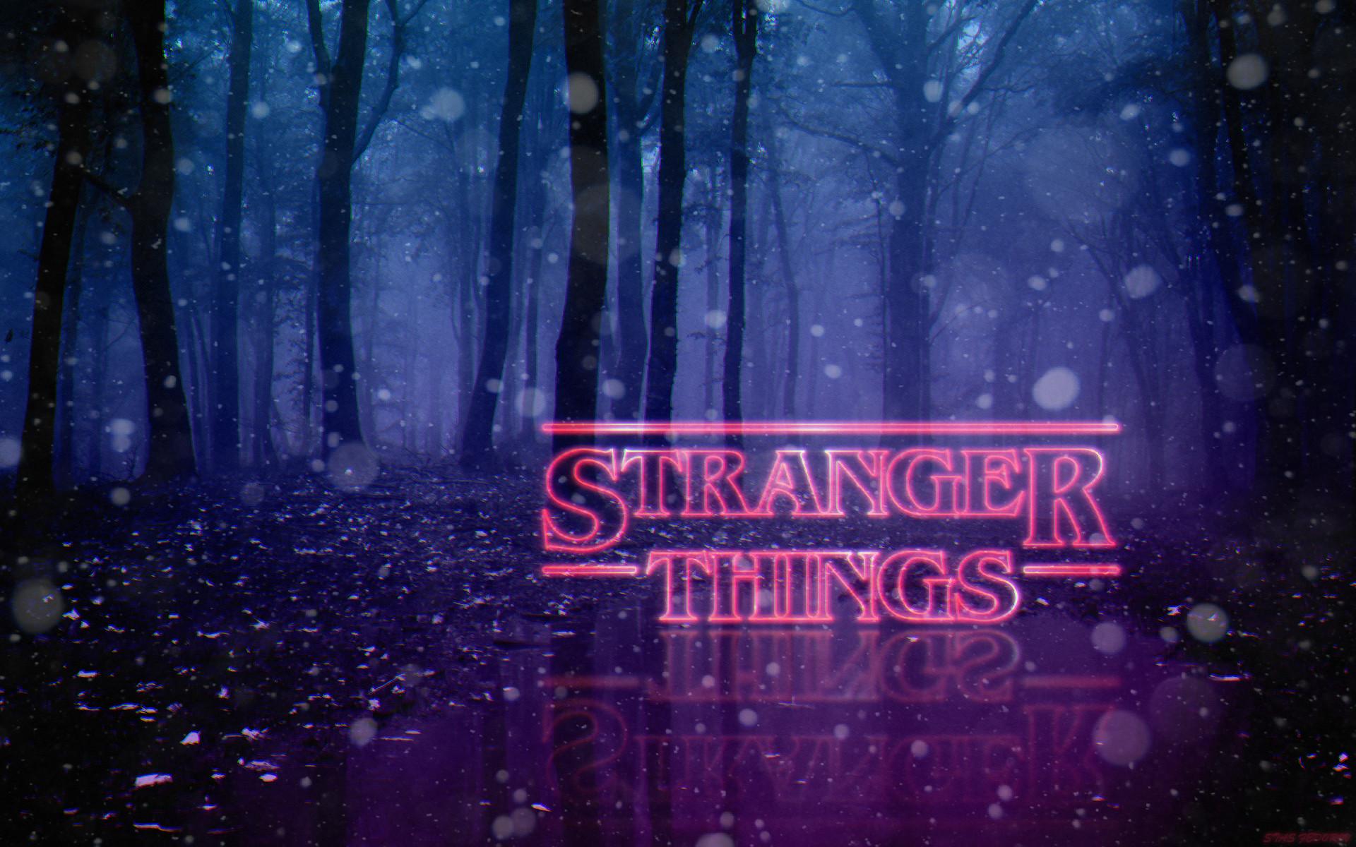 Stas Fedorov Stranger Things Wallpaper