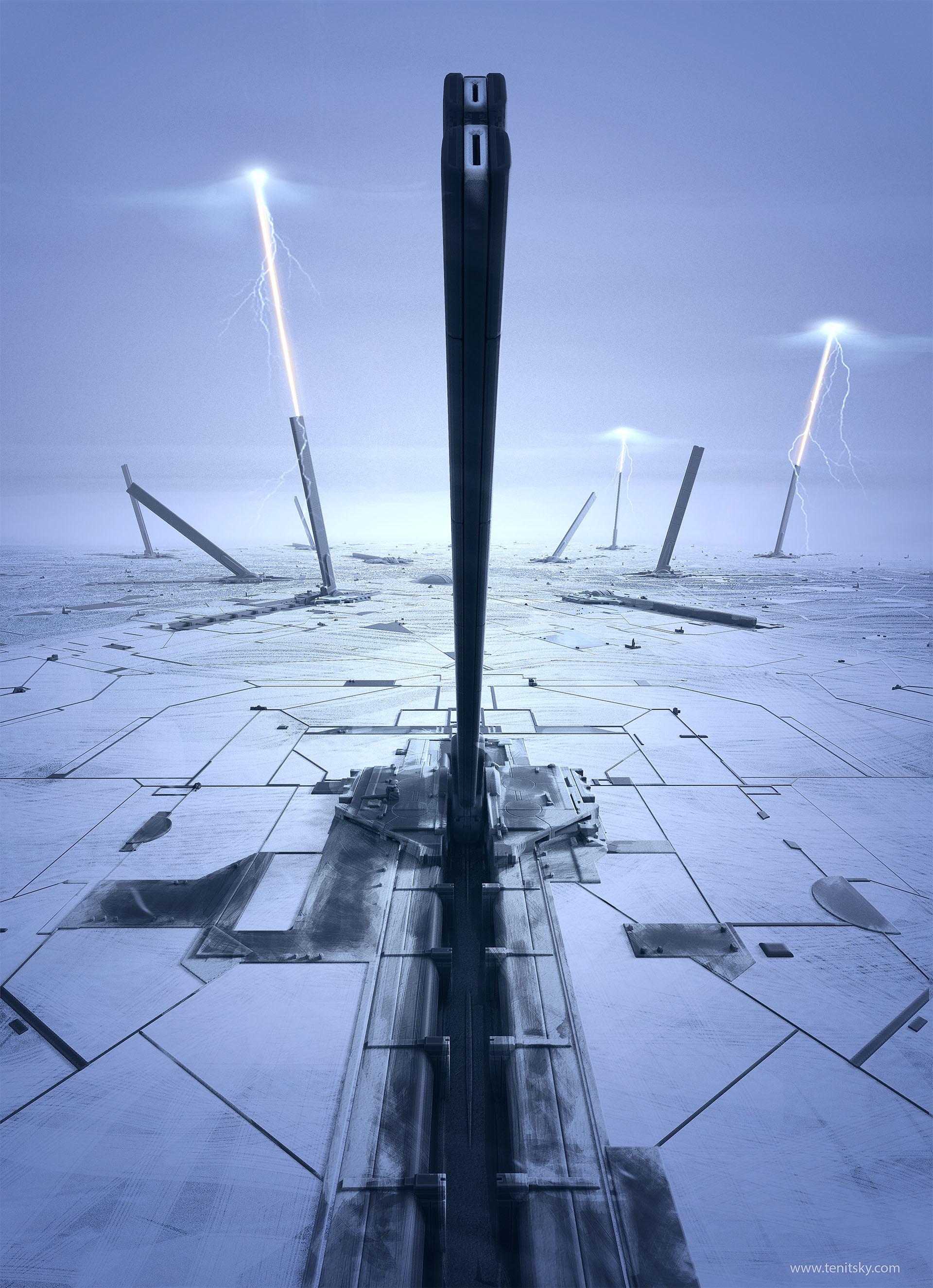 Anton t south pole defense array 000