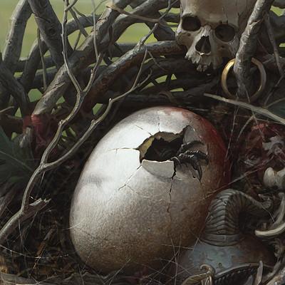 Grafit studio harpy egg